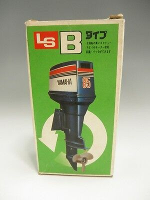 YAMAHA 85 LS OUTBOARD MOTOR toy ship TYPE B RE-140 JAPAN