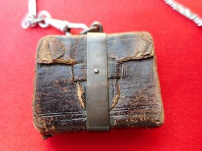 Tiny Bible for chatelaine. Very old