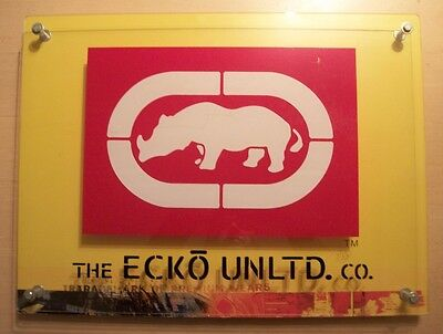 "The Ecko Unlimited Co. Store display sign, 18""X24"""