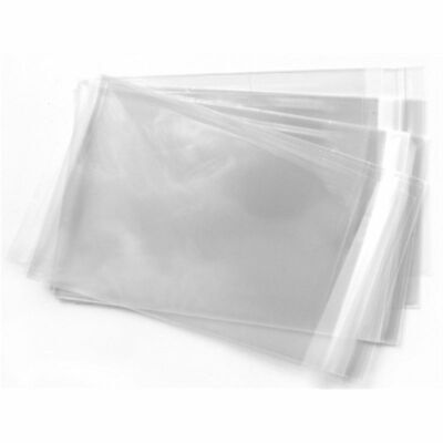 Crystal Clear Cellophane Bags Choose Size/Qty