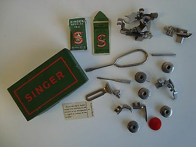 Singer sewing machine accesories. Box full of bits and bobs!