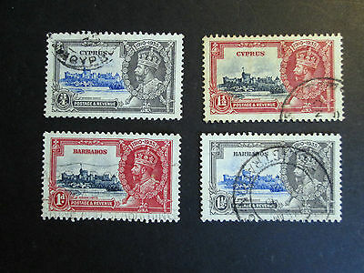 Silver Jubilee 1935 omnibus issues part sets Fine used