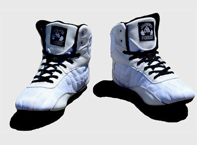 Mens Hightop Gym Shoes Weight Lifting Boots Bodybuilding