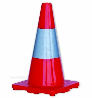 Prochoice Day & Night SAFETY CONES WITH REFLECTIVE TAPE*AUS Brand-450mm Or 700mm