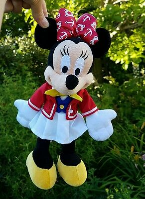 Minnie mouse cruise plush small soft toy disney cruise line official