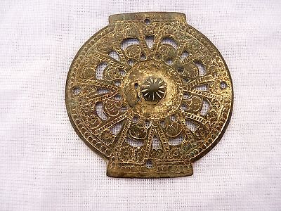 Roman  Bronze Applique with gold