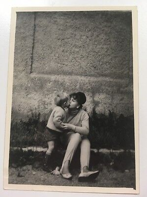 PHOTO ANCIENNE - VINTAGE SNAPSHOT - Funny- Kiss