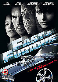 Fast And Furious 4 (DVD, 2009) Brand New and Sealed