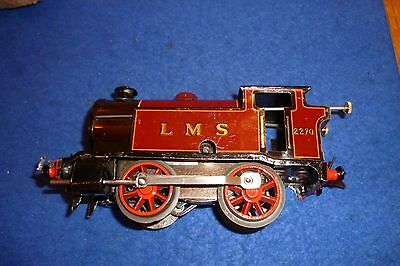 Vintage Hornby 0-4-0 Red Tank Locomotive LMS 2270 Fully Serviced and Working