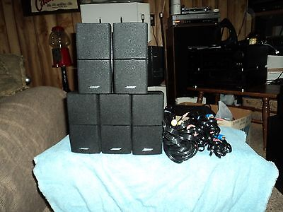 5 Bose Lifestyle/acoustimass 3/6/7/8/10/12/15/18/20/v25/28/38  Speakers-Wires