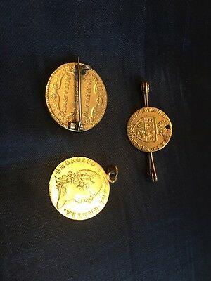 Great Collection Of Reproduction Georgian Coin Jewellery