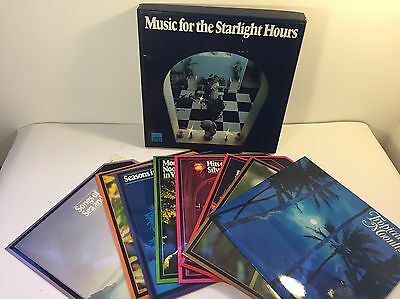Music For The Starlight Hours Collection Of 8 Lp Vinyl Records Box-Set 'r Digest
