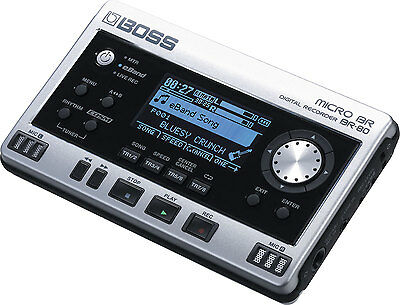 Boss Micro Br-80 Digital Multi 8 Track Recorder Effects Processor & Power Supply