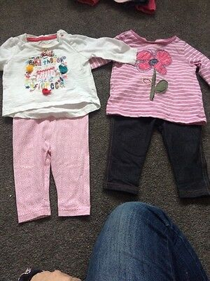 2 Baby Girl Outfits 3-6 Months Mothercare Tu H&M Next
