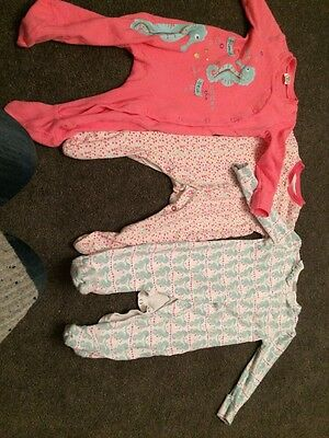 3 Baby Grows Mothercare And Tesco