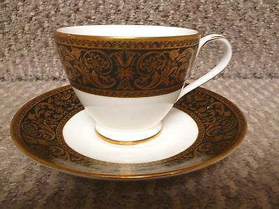 4 X Minton Grandee Pattern Tea Cups And Saucers