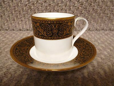 4 X Minton Grandee Pattern Coffee Cans And Saucers