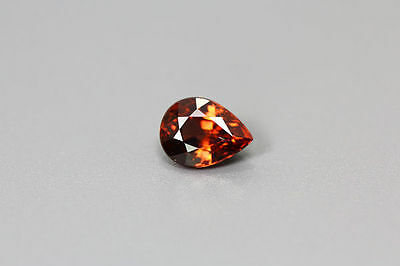1.700 Cts Full Fire 100% Natural Earth Mine Royal Red Zircon Loose Gemstone~!!!