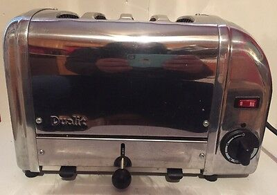 Dualit 4 slot toaster Model A4/84