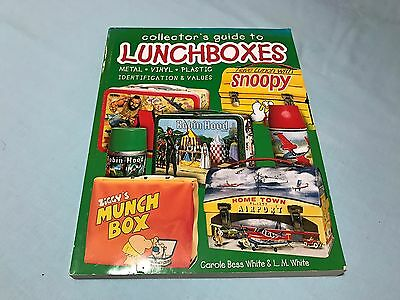 Collectors Guide To Lunchboxes Soft Cover Book
