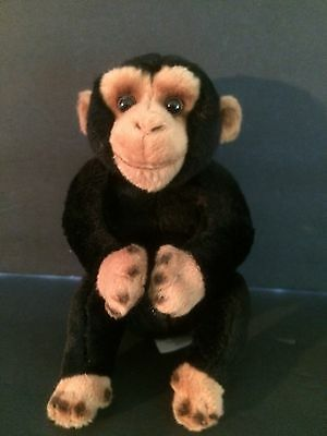 "RUSS Berrie Yomiko Classics  Chimpanzee Monkey  ""CHAN""   Soft Plush Toy Small"