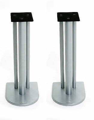 Atacama Nexus 6i Speaker Stands Silver Metallic (Pair)