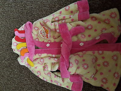 baby girl dressing gown 9-12months