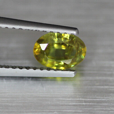 0.75Cts Sparkling Natural Unheated Sphene-Madagascar Loose Gemstone