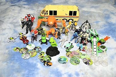 Huge Bundle / Lot / collection of BEN 10 Toys, Figures and Vehicles - some rare