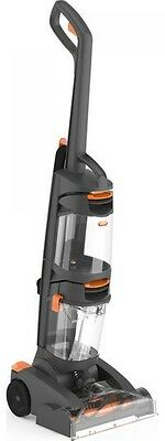 VAX W86-DP-B Dual Power Upright Carpet Cleaner - Grey and Orange
