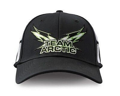 Arctic Cat Team Arctic Performance Mesh Panel Cap - Black-S/M