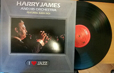 Harry James And His Orchestra Featuring Buddy Rich (Lp 33 Giri, Disco In Vinile)