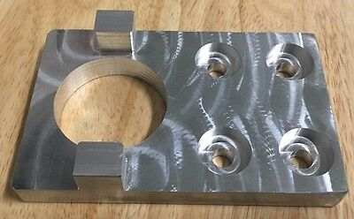 Billet Aluminum CAT 40 Tool Holder Fixture for Tightening, Vise, and Mounting