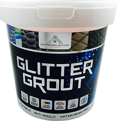 Glitter grout 1KG, Bathroom wall and floor tiles mosaics