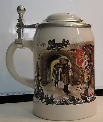 STROHS Bavaria Collection No III Lidded LE.Beer Stein #03993 (JTS34)
