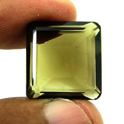29.60 Ct Natural Beautiful Faceted Smoky Quartz Loose Gemstone Stone - PS259