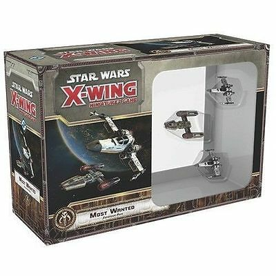 Star Wars X-Wing Miniatures Game Expansion pack  Most Wanted NEW
