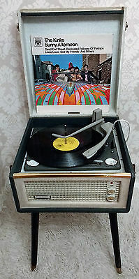 1960's Dansette Bermuda Record Player with Legs - Excellent  Original Condition