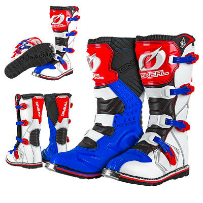 Oneal Rider Cross Boot EU blue/red/white Motocross Enduro Stiefel NEU