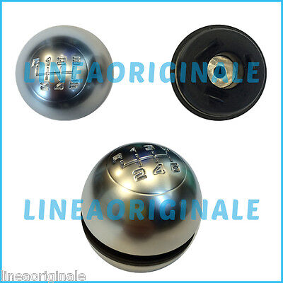 Pomello Completo ORIGINALE Alfa Romeo Giulietta kit cambio satinato knob gear it