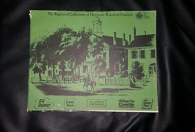 Registered Collections of Heywood Wakefield Furniture Old Colony Publick Book