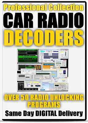Pro Car Radio Unlock Decode Software Ford, Renault, Bmw, Peugeot + Many More
