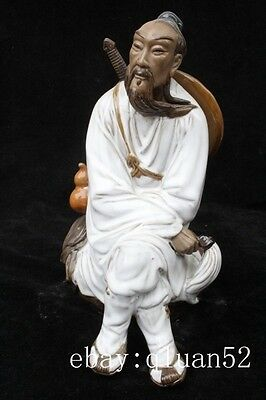 Chinese ceramics, the eight immortals statue of lu dongbin