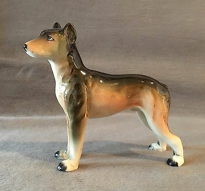 Vintage 1940s – 1950s Ceramic Doberman dog Japan