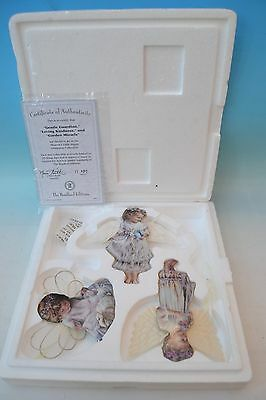 Heavens little angels ornament collection The Bradford Editions 1st set