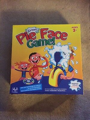 Pieface Game Brand New Unwanted Gift