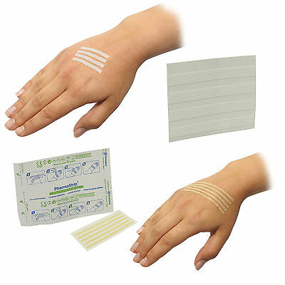 CMS Medical Hypo-allergenic Instant Wound Closure Strips Sutures Various Sizes