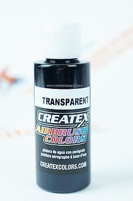 Createx Airbrush Colors 5132 Transparent Black 2oz. water-based airbrush paint
