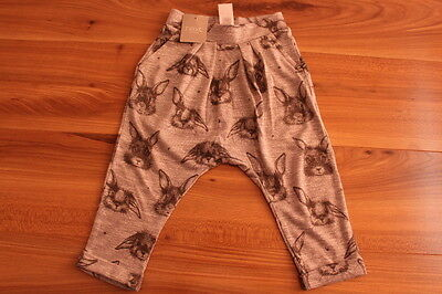NEXT girls BUNNY pull on trousers 12-18 months NEW *I'll combine postag
