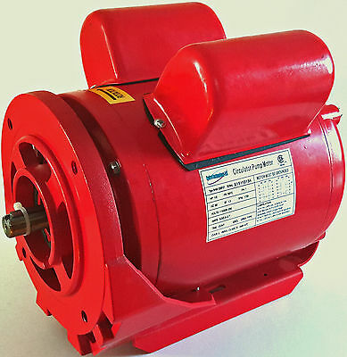 Circulator Pump Motor for Armstrong and Bell and Gossett Pumps